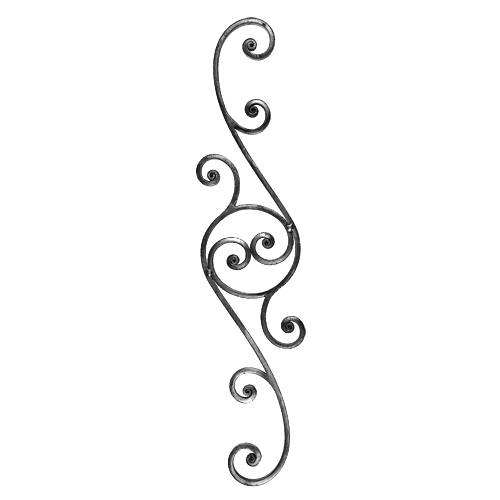 decorative scroll panel